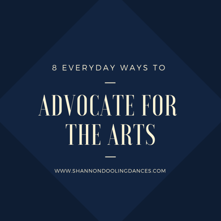 ADVOCATE FOR THE ARTS