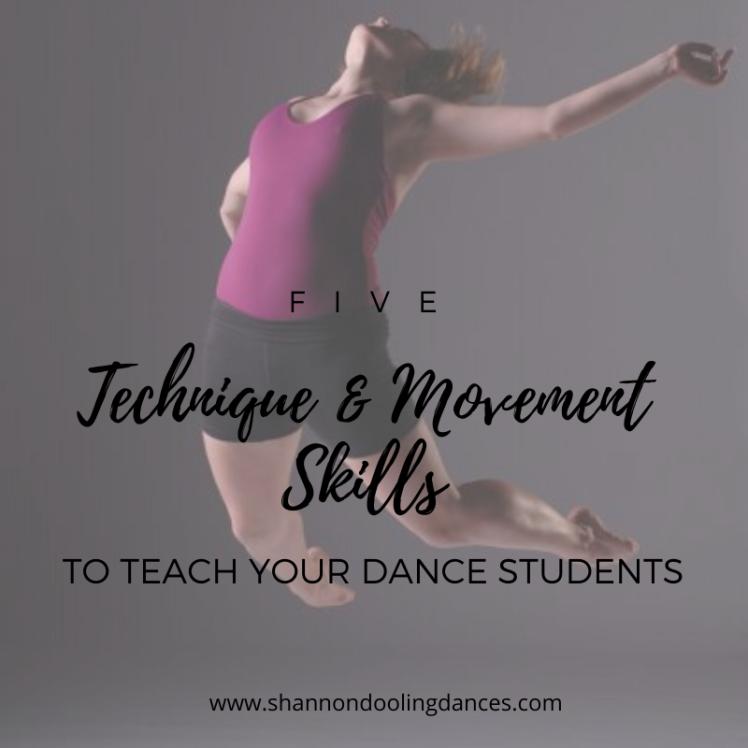 dance technique exercises