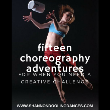 Choreography ideas and prompts