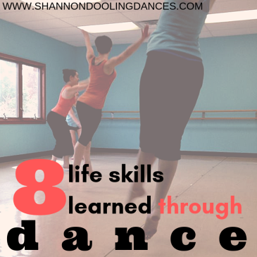 8 life skills learned through dance
