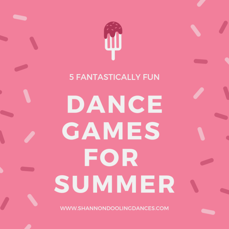 dance games for summer
