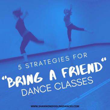 Ideas for bring a friend dance class