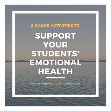 SOCIAL EMOTIONAL LEARNING THROUGH DANCE
