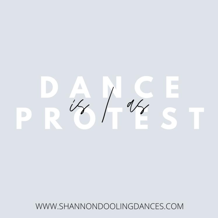 protest dance
